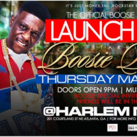 Boosie Juice Party ATL - Club Harlem Nights Ultra Lounge May 4th