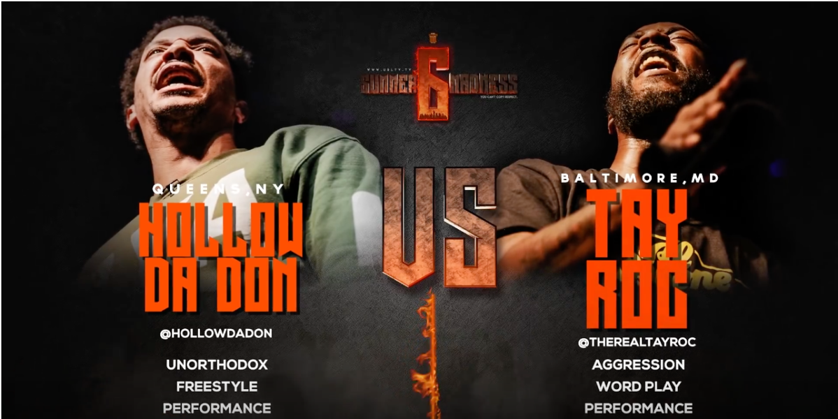 #Poll @hollowdadon VS @TheRealTayRoc SMACK/ URL RAP BATTLE |@urltv