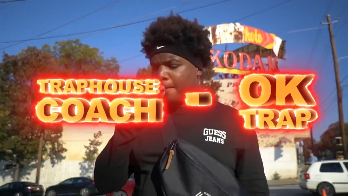 """Atlanta's Number 1 Trapper @TraphouseCoach """"OK Trap"""" Video shot by @_quincyBrooks"""