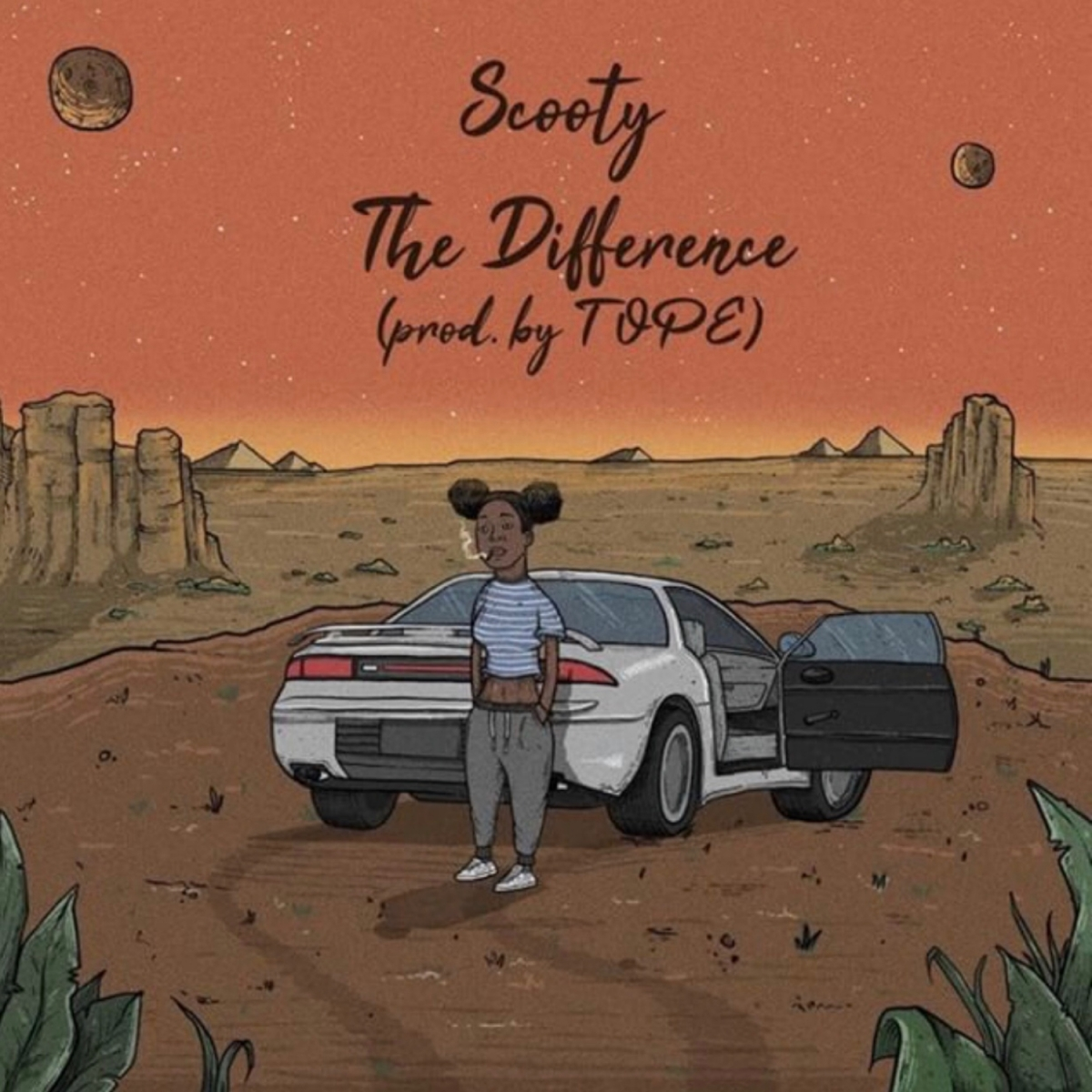 Scooty - The Difference (Prod. TOPE)|@ScootyBootyHUH @itsTOPE (Audio)